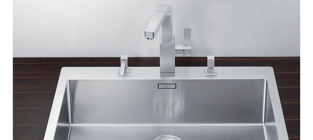 Levos Нержавеющая сталь с зеркальной полировкой дозатор Blanco