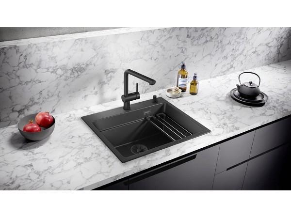 Набор декоративных элементов C-overflow и InFino® в черном матовом цвете (одна чаша) 239975
