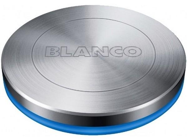 Кнопка управления клапаном-автоматом Blanco Push Control Blue