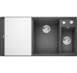 Мойка Blanco Axia III 6 S Темная скала, , 47920 ₽, 523473, Axia III 6 S чаша справа, Мойки для кухни