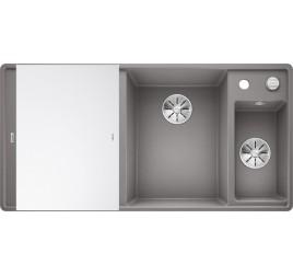 Мойка Blanco Axia III 6 S-F Алюметаллик (чаша справа), , 65250 ₽, 523491, Axia III 6 S-F чаша справа, Мойки для кухни