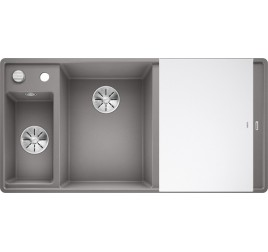 Мойка Blanco Axia III 6 S-F Алюметаллик (чаша слева), , 65250 ₽, 524671, Axia III 6 S-F чаша слева, Мойки для кухни