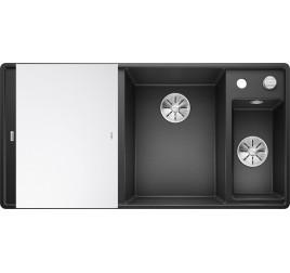 Мойка Blanco Axia III 6 S-F Антрацит (чаша справа), , 65250 ₽, 523489, Axia III 6 S-F чаша справа, Мойки для кухни