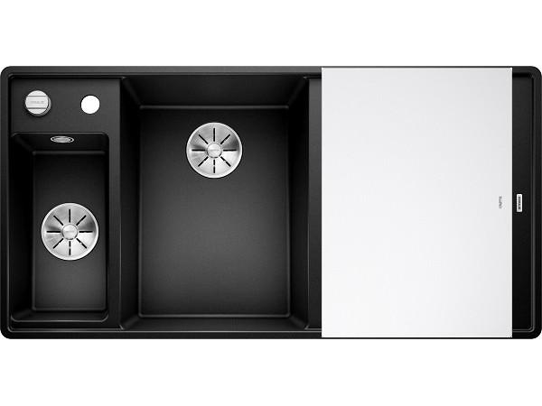Мойка Blanco Axia III 6 S-F Черный (чаша слева)