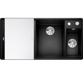 Мойка Blanco Axia III 6 S-F Черный (чаша справа), , 65250 ₽, 525854, Axia III 6 S-F чаша справа, Мойки для кухни