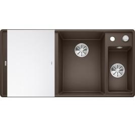 Мойка Blanco Axia III 6 S-F Кофе (чаша справа), , 65250 ₽, 523494, Axia III 6 S-F чаша справа, Мойки для кухни