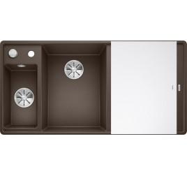 Мойка Blanco Axia III 6 S-F Кофе (чаша слева), , 65250 ₽, 524674, Axia III 6 S-F чаша слева, Мойки для кухни