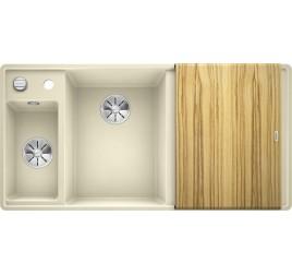 Мойка Blanco Axia III 6 S-F Жасмин (чаша слева) SilGranit 524667, , 76050 ₽, 524667, Axia III 6 S-F чаша слева, Мойки для кухни