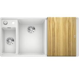 Мойка Blanco Axia III 6 S-F Белый (чаша слева) SilGranit 524666, , 76050 ₽, 524666, Axia III 6 S-F чаша слева, Мойки для кухни