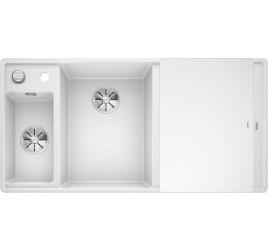 Мойка Blanco Axia III 6 S-F Белый (чаша слева), , 65250 ₽, 524672, Axia III 6 S-F чаша слева, Мойки для кухни