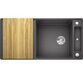 Мойка Blanco Axia III XL 6 S-F Темная скала, , 68940 ₽, 523521, Axia III XL 6 S-F, Мойки для кухни