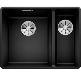 Мойка Blanco Subline 340/160-F Черный, , 50220 ₽, 525984, Subline 340/160-F, Мойки для кухни
