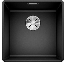 Мойка Blanco Subline 400-F Черный, , 27000 ₽, 525988, Subline 400-F, Мойки для кухни