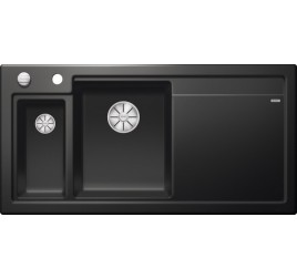 Мойка Blanco Axon II 6 S Черный, , 72243 ₽, 524150, Axon II 6 S чаша слева, Мойки для кухни