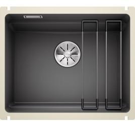 Мойка Blanco Etagon 500-U Керамика PuraPlus Базальт 525154, , 54900 ₽, 525154, Etagon 500-U Керамика, Мойки для кухни