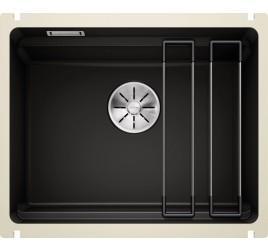 Мойка Blanco Etagon 500-U Керамика PuraPlus Чёрный 525155, , 54900 ₽, 525155, Etagon 500-U Керамика, Мойки для кухни