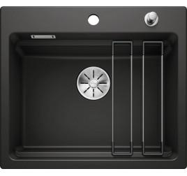 Мойка Blanco Etagon 6 Керамика PuraPlus Чёрный 525162, , 62820 ₽, 525162, Etagon 6 Керамика, Мойки для кухни