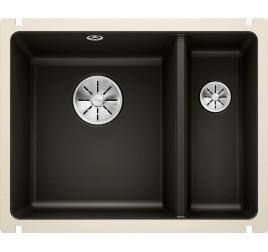 Мойка Blanco Subline 350/150-U Керамика PuraPlus Черный, , 34425 ₽, 523747, Subline 350/150-U PuraPlus, Мойки для кухни