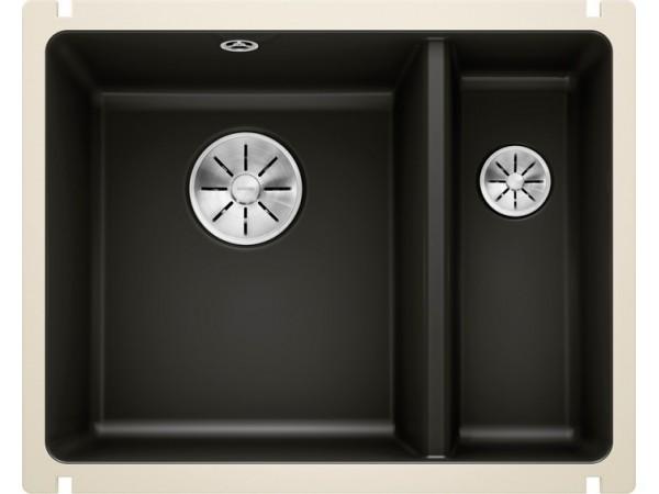 Мойка Blanco Subline 350/150-U Керамика PuraPlus Черный
