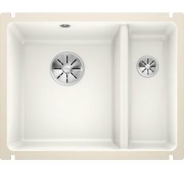 Мойка Blanco Subline 350/150-U Керамика PuraPlus Глянцевый белый, , 34425 ₽, 523741, Subline 350/150-U PuraPlus, Мойки для кухни