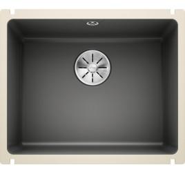 Мойка Blanco Subline 500-U Керамика PuraPlus Базальт, , 31410 ₽, 523739, Subline 500-U PuraPlus, Мойки для кухни