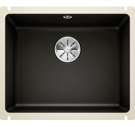 Мойка Blanco Subline 500-U Керамика PuraPlus Черный, , 31450 ₽, 523740, Subline 500-U PuraPlus, Мойки для кухни