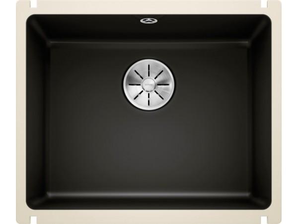 Мойка Blanco Subline 500-U Керамика PuraPlus Черный