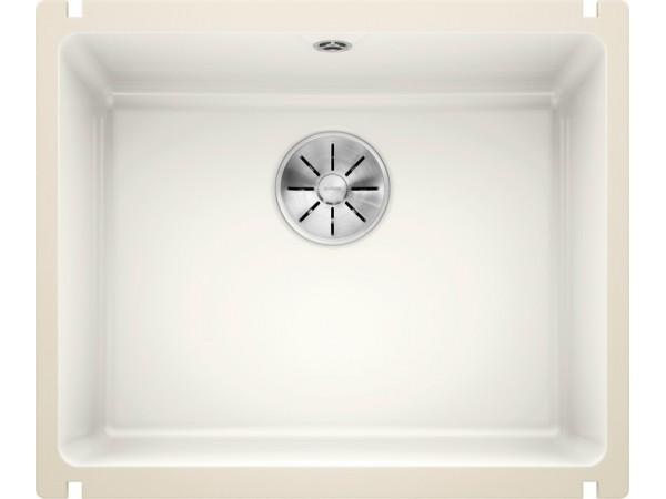 Мойка Blanco Subline 500-U Керамика PuraPlus Глянцевый белый