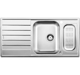 Мойка Blanco Livit 6 S centric Сталь полированная , , 17910 ₽, 516191, Livit 6 S centric, Мойки врезные