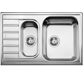 Мойка Blanco Livit 6 S compact Сталь декор, , 16470 ₽, 515794, Livit 6 S compact, Мойки врезные