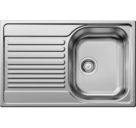 Мойка Blanco Tipo 45 S compact Cталь декор, , 8550 ₽, 513675, Tipo 45 S compact, Мойки врезные