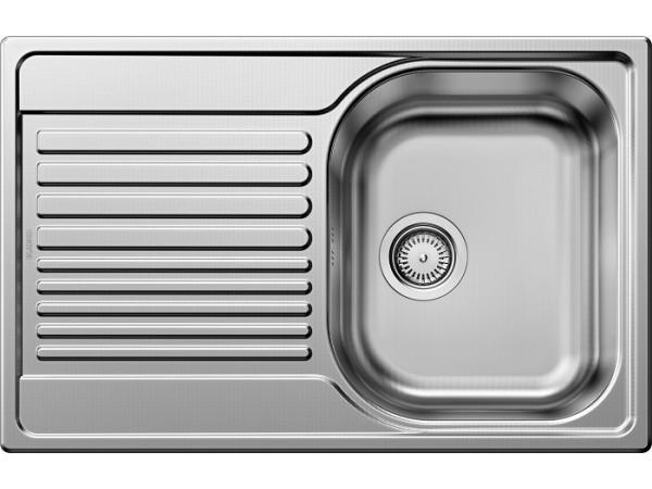 Мойка Blanco Tipo 45 S compact Cталь декор