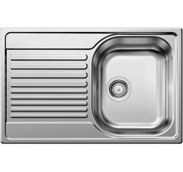 Мойка Blanco Tipo 45 S compact Сталь матовая, , 6660 ₽, 513441, Tipo 45 S compact, Мойки врезные