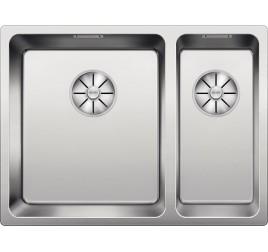 Мойка Blanco Andano 340/180-IF Сталь полированная, , 38600 ₽, 522975, Andano 340/180-IF чаша слева, Мойки для кухни