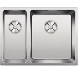 Мойка Blanco Andano 340/180-IF Cталь полированная, , 47520 ₽, 522973, Andano 340/180-IF чаша справа, Мойки для кухни