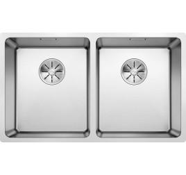 Мойка Blanco Andano 340/340-IF Cталь полированная, , 42560 ₽, 522981, Andano 340/340-IF, Мойки для кухни