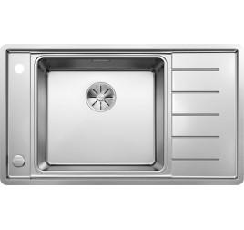 Мойка Blanco Andano XL 6 S-IF Compact Сталь с зеркальной полировкой, , 41393 ₽, 523002, Andano XL 6 S-IF Compact чаша слева, Мойки для кухни