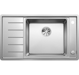 Мойка Blanco Andano XL 6 S-IF Compact Сталь с зеркальной полировкой, , 41393 ₽, 523001, Andano XL 6 S-IF Compact чаша справа, Мойки для кухни