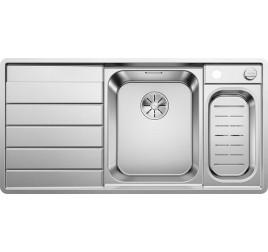 Мойка Blanco Axis III 6 S-IF Сталь с зеркальной полировкой, , 43736 ₽, 522104, Axis III 6 S-IF чаша справа, Мойки для кухни