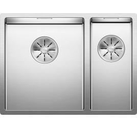 Мойка Blanco Claron 340/180-IF Сталь с зеркальной полировкой, , 118350 ₽, 521607, Claron 340/180-IF чаша слева, Мойки для кухни