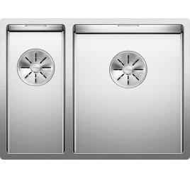 Мойка Blanco Claron 340/180-IF Сталь с зеркальной полировкой, , 95440 ₽, 521608, Claron 340/180-IF чаша справа, Мойки для кухни