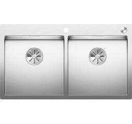 Мойка Blanco Claron 400/400-IF/A Сталь с зеркальной полировкой, , 87690 ₽, 521654, Claron 400/400-IF/A, Мойки для кухни