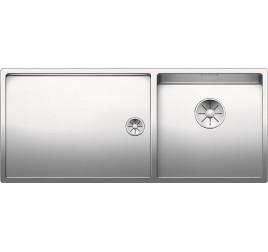 Мойка Blanco Claron 400/550-T-IF Сталь с зеркальной полировкой, , 96380 ₽, 521600, Claron 400/550-T-IF чаша справа, Мойки для кухни