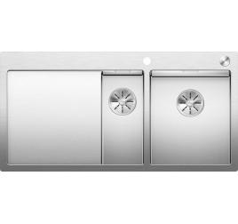 Мойка Blanco Claron 6 S-IF Сталь с зеркальной полировкой, , 91768 ₽, 521645, Claron 6 S-IF чаша справа, Мойки для кухни