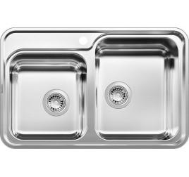 Мойка Blanco Classic 8-IF Сталь с зеркальной полировкой, , 40211 ₽, 514641, Classic 8-IF, Мойки для кухни