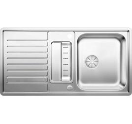 Мойка Blanco Classic Pro 5 S-IF Сталь с зеркальной полировкой, , 30771 ₽, 523663, Classic Pro 5 S-IF, Мойки для кухни