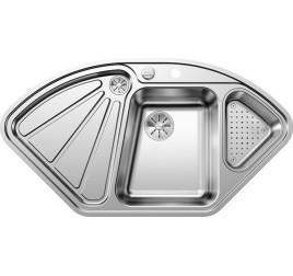 Мойка Blanco Delta-IF Сталь с зеркальной полировкой, , 43267 ₽, 523667, Delta-IF, Мойки для кухни