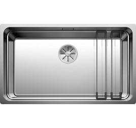Мойка Blanco Etagon 700-IF Сталь с зеркальной полировкой, , 37840 ₽, 524272, Etagon 700-IF, Мойки для кухни