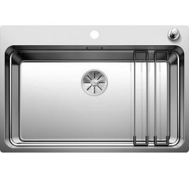 Мойка Blanco Etagon 700-IF/A Сталь с зеркальной полировкой, , 53280 ₽, 524274, Etagon 700-IF/A, Мойки интегрированные