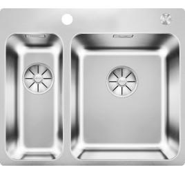 Мойка Blanco Solis 340/180-IF/A Cталь полированная, , 50000 ₽, 526132, Solis 340/180-IF/A, Мойки для кухни